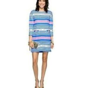 Lilly Pulitzer Lena Dress With Gold Accents, M